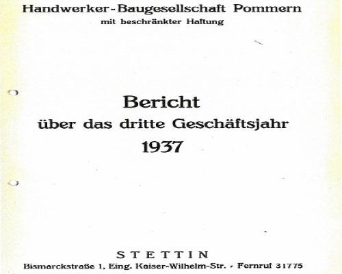 Handwerker-Baugesellschaft Pommern